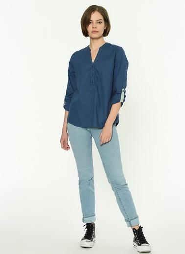 Mustang Bluz Mavi